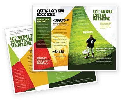 American Football In School Brochure Template Our Inspiration - School brochure template