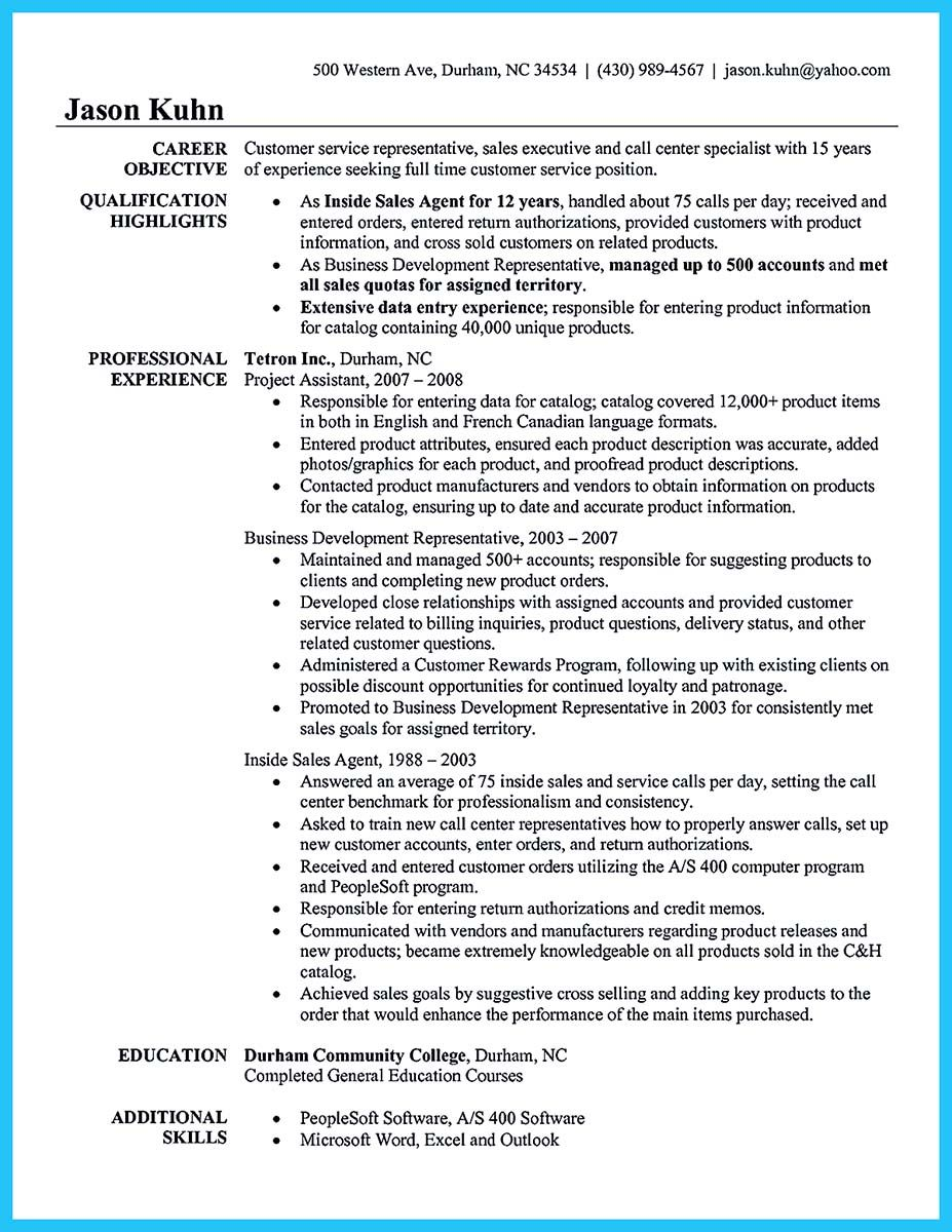 Nice Cool Information And Facts For Your Best Call Center Resume Sample Customer Service Resume Resume Objective Examples Customer Service Resume Examples
