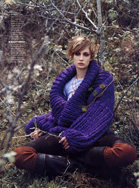 Fall Fashion Editorials Elle magazine September 2003