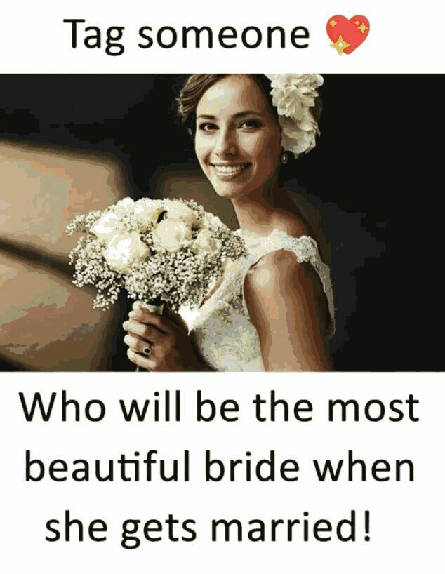 My Peanut Would Be The Most Beautiful Bride If She Marries Becoz She
