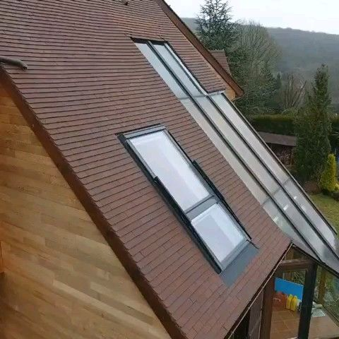 This Transform Into A Balcony Video In 2020 House Roof Design Unique Houses Unique House Design
