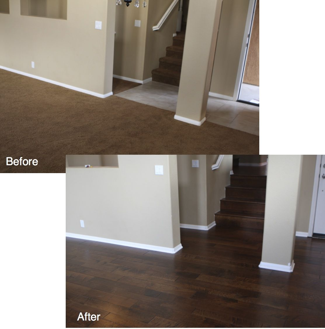 West coast flooring completely transformed this san diego for West coast floors