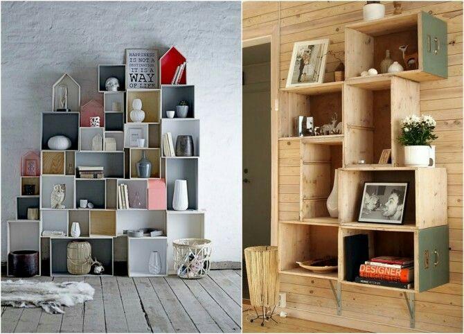 Mi proximo proyecto estanterias con cajas de vino de - Estanterias de vino ...