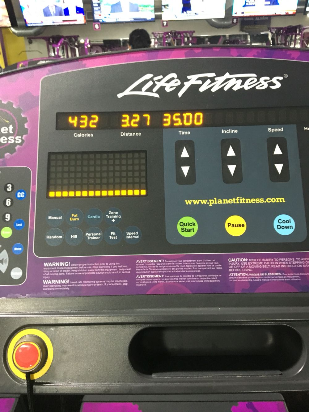 808 treadmill fitness workout cardio stairmaster