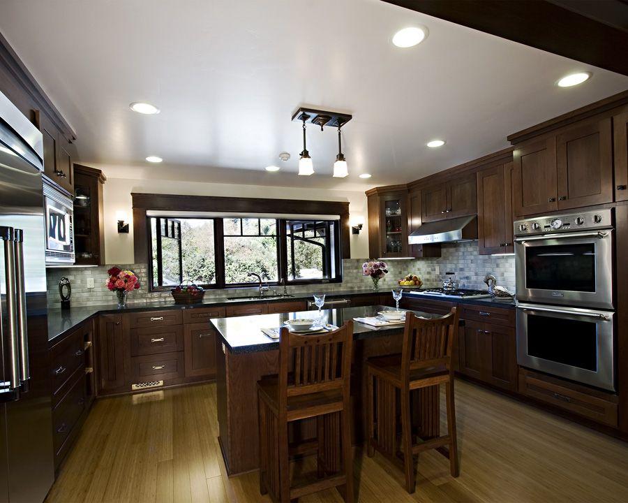 Best Montecito Craftsman Custom Home Kitchen By Allen 640 x 480