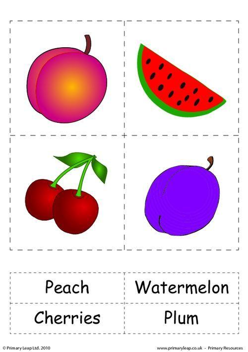 Primaryleap Co Uk Fruit 2 Worksheet Flashcards Flashcards For Kids Kids Learning Alphabet Preschool learning worksheets uk