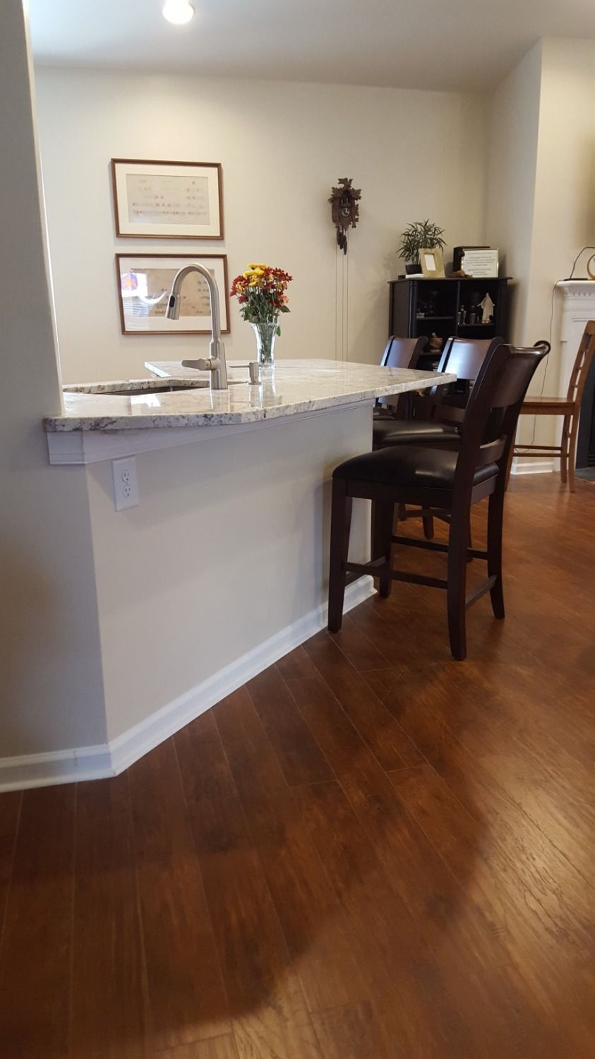 Countertop Braces Floating Your Kitchen Bar Top With Hidden Countertop Support