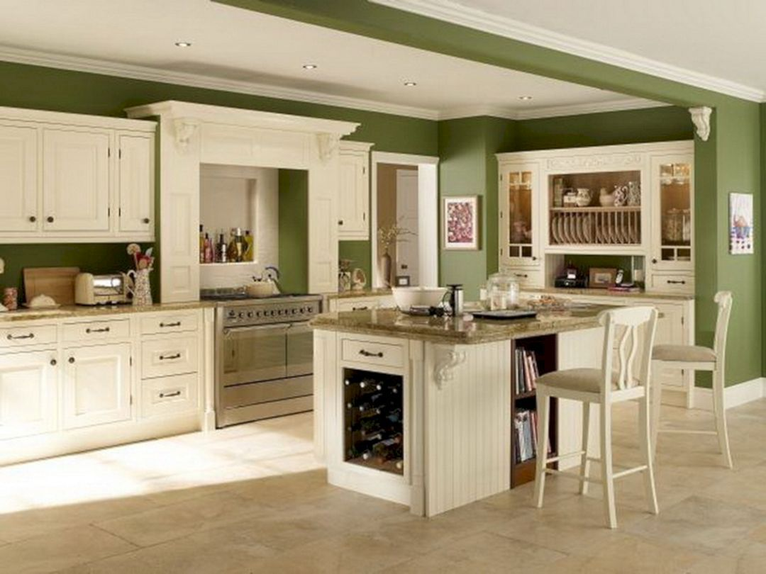 40+ Best Kitchen Wall Paint Colors in Your Home / FresHOUZ ...