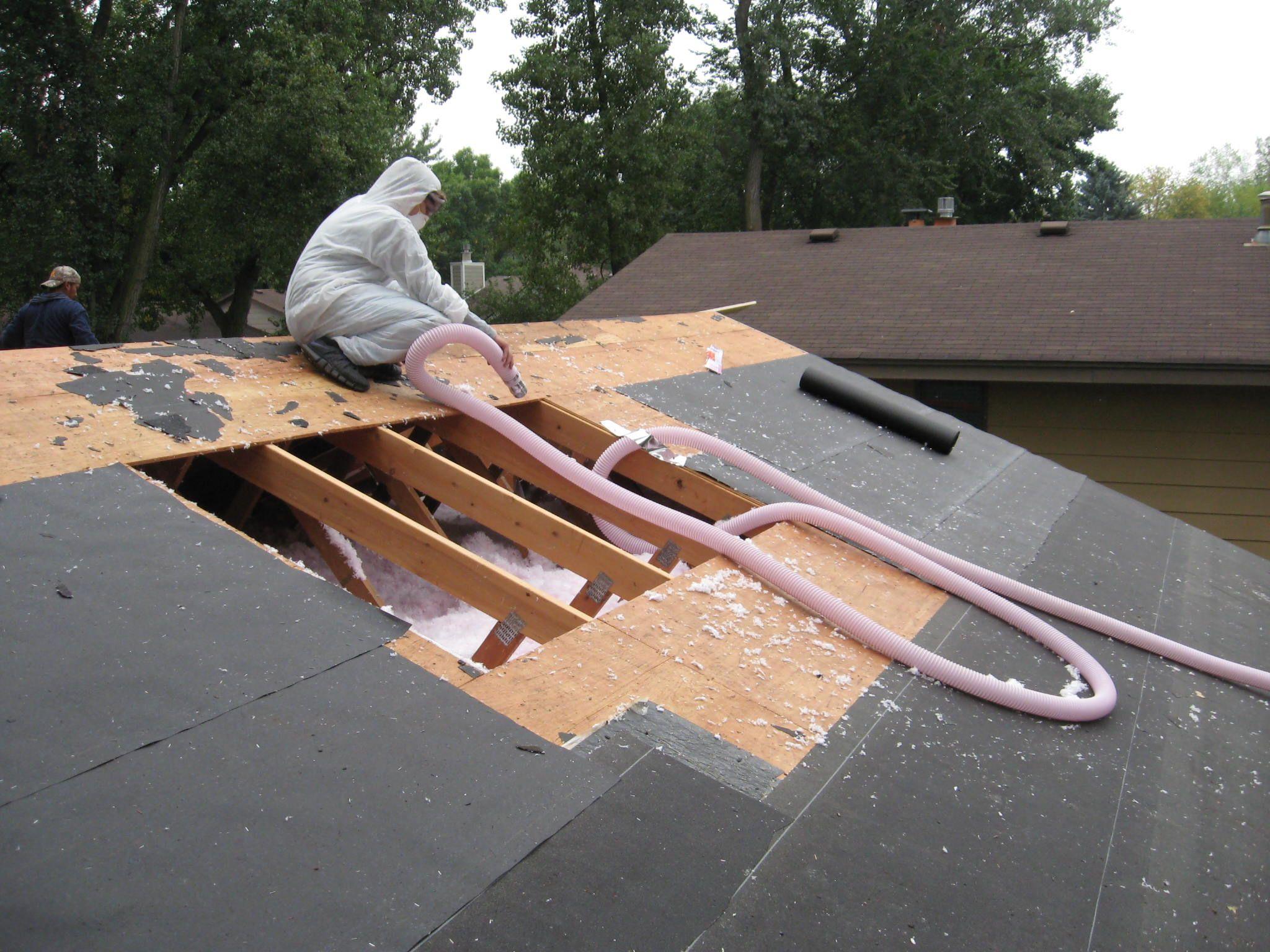 How do you insulate an existing metal building