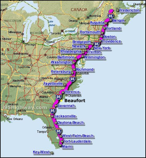 Intercoastal waterway places i 39 d love to live for Places to see on east coast road trip