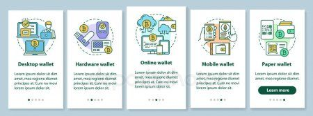 Cryptocurrency wallet for merchangts mobile app