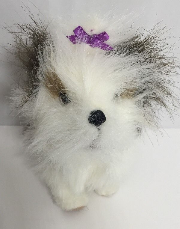 Furreal Friends Dog Shih Tzu Lil Patter Puppy Brown White Small