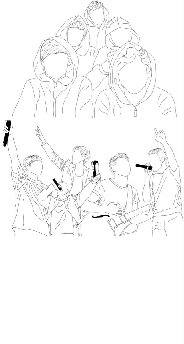 Momento Larry Para Colorear One Direction Si Eres Larry No Olvides Seguirme Para Pines I En 2020 Dibujos De One Direction Fotos De One Direction Arte De One Direction