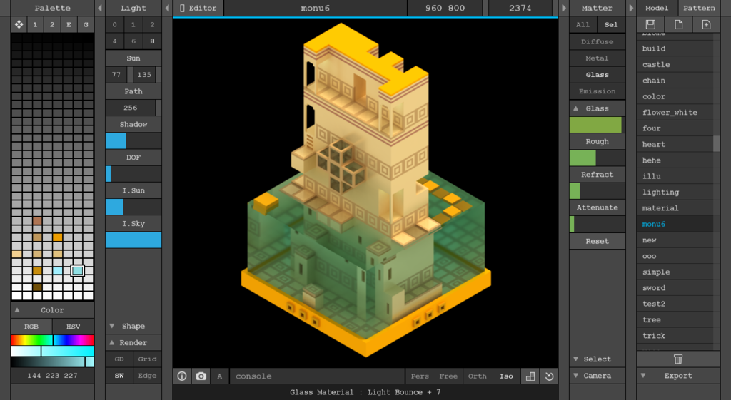 Magicavoxel win mac created by ephtracy free for 3d editor online