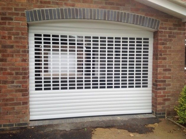 SeceuroGlide Roller Garage Door with ventilation slats in Boston Lincolnshire & SeceuroGlide Roller Garage Door with ventilation slats in Boston ... pezcame.com