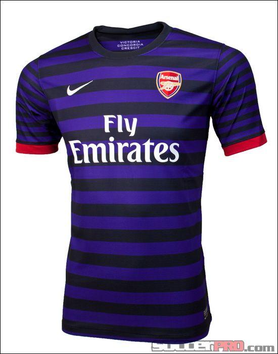 Nike Arsenal Away Jersey 2012-2013...$74.49. soccer forever