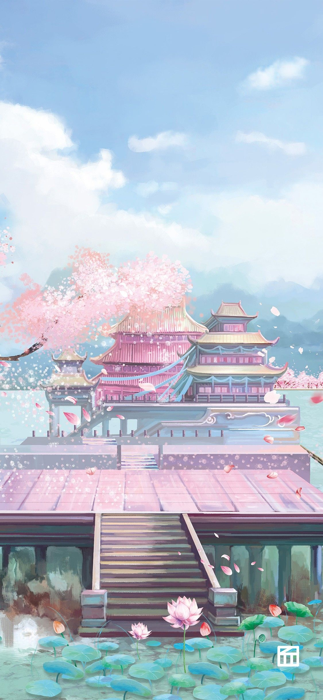 Pin By Aria On Anime Academy In 2020 Anime Scenery Anime Places Asian Landscape