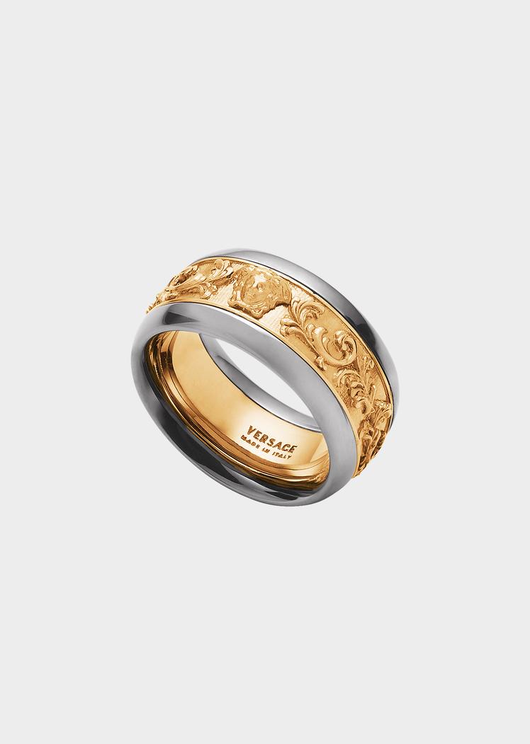 Anello Eternal Barocco - Versace Uomo  31f907ce91c2