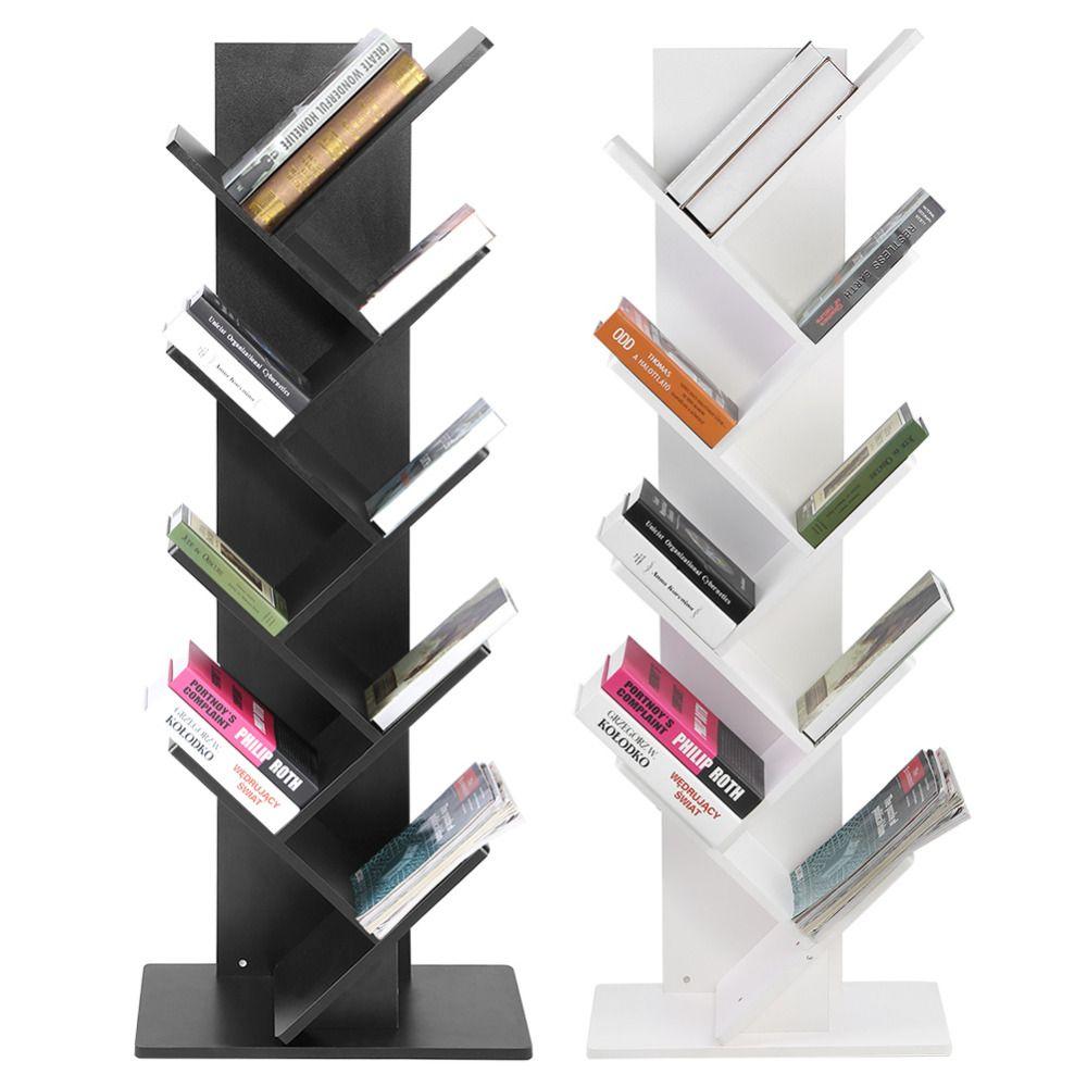 Moderne 9-Tier Office Boekenplank Boekenkast Boeken CDs Display ...