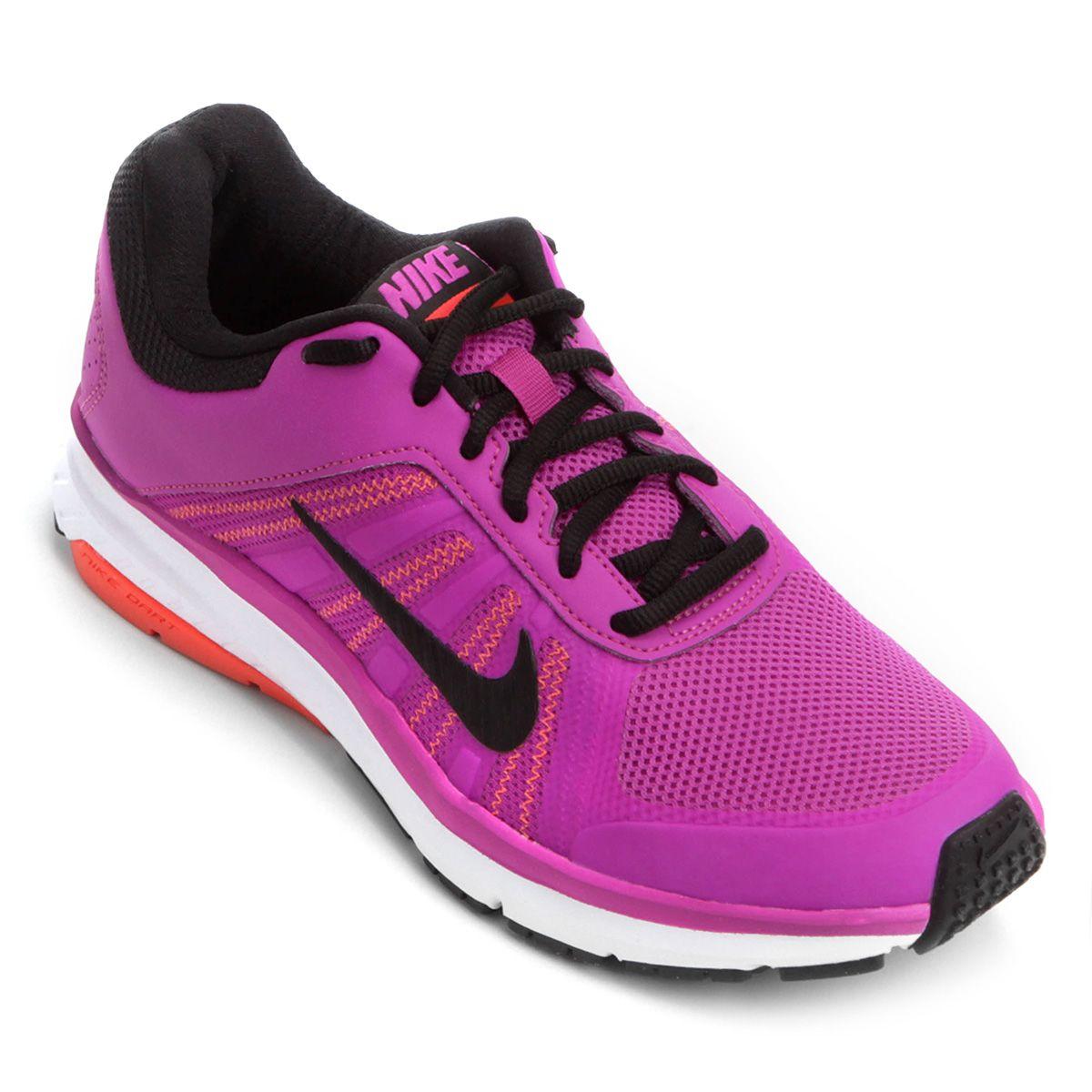 ecda581eafa Tênis Nike Dart 12 MSL Feminino - Violeta e Branco