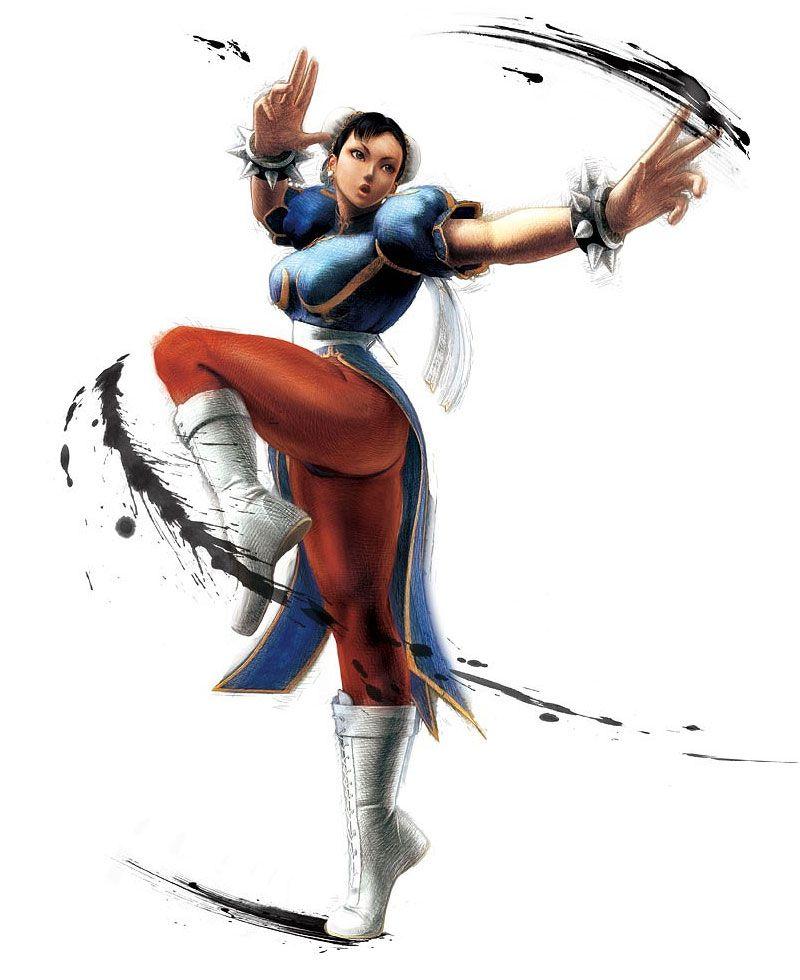 Chun Li Street Fighter Characters Super Street Fighter Street