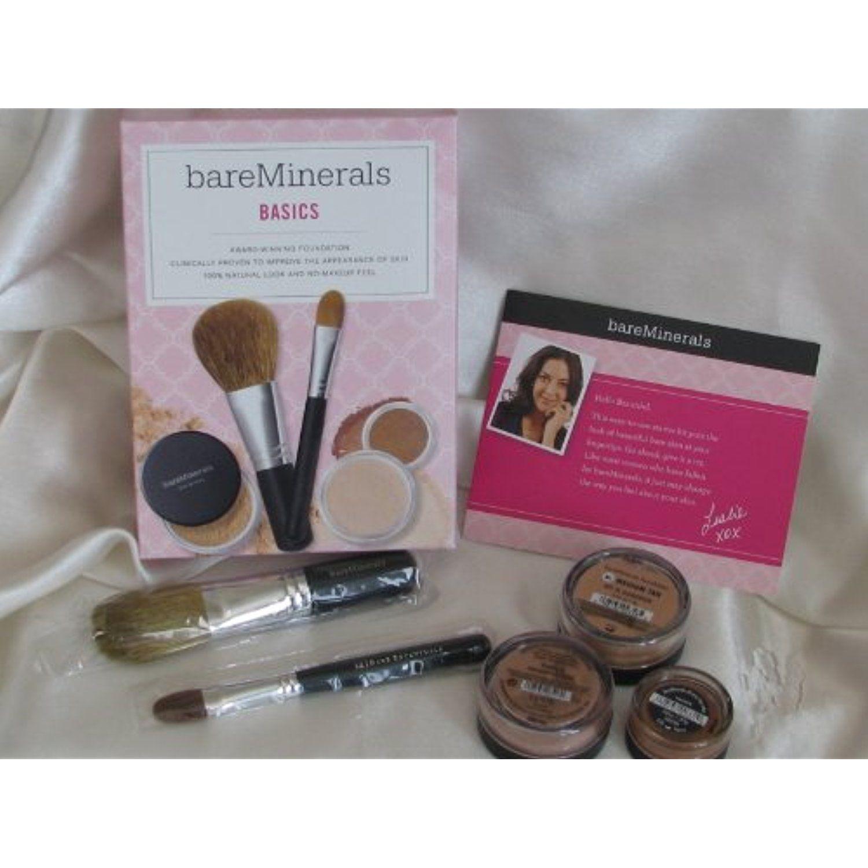 Bareminerals Basics Kit of 5 Medium Tan Foundation, Warmth