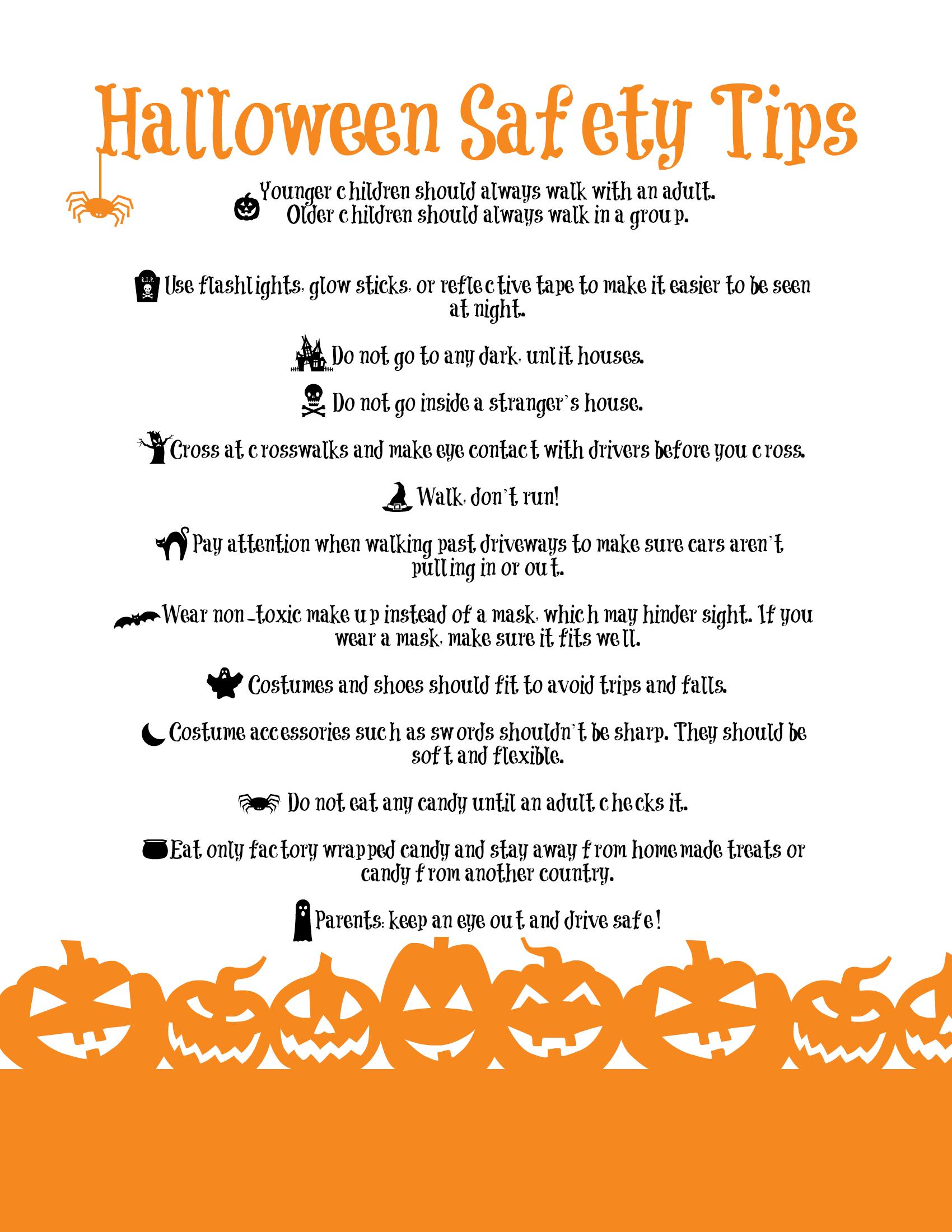 Halloween safety - Google Search | Awareness | Pinterest ...