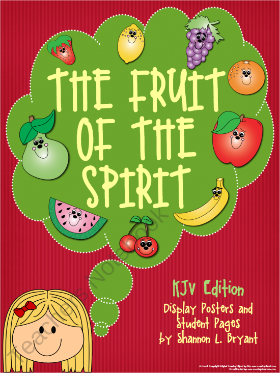 Teachers Notebook Fruit Of The Spirit Spirit Song Preschool Bible