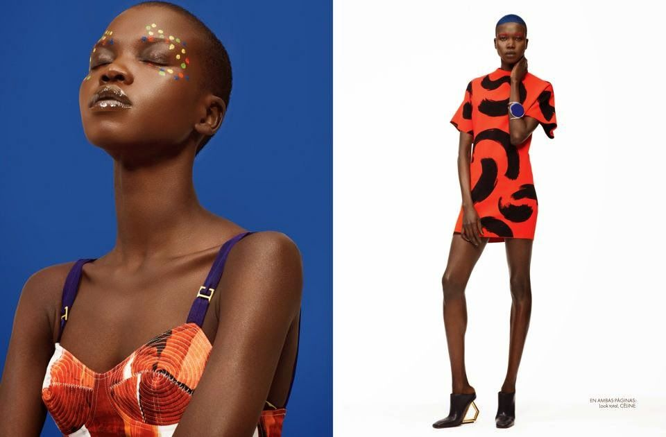 FAB Editorial: Nykhor Paul By Maria Karas For Elle Mexico May 2014