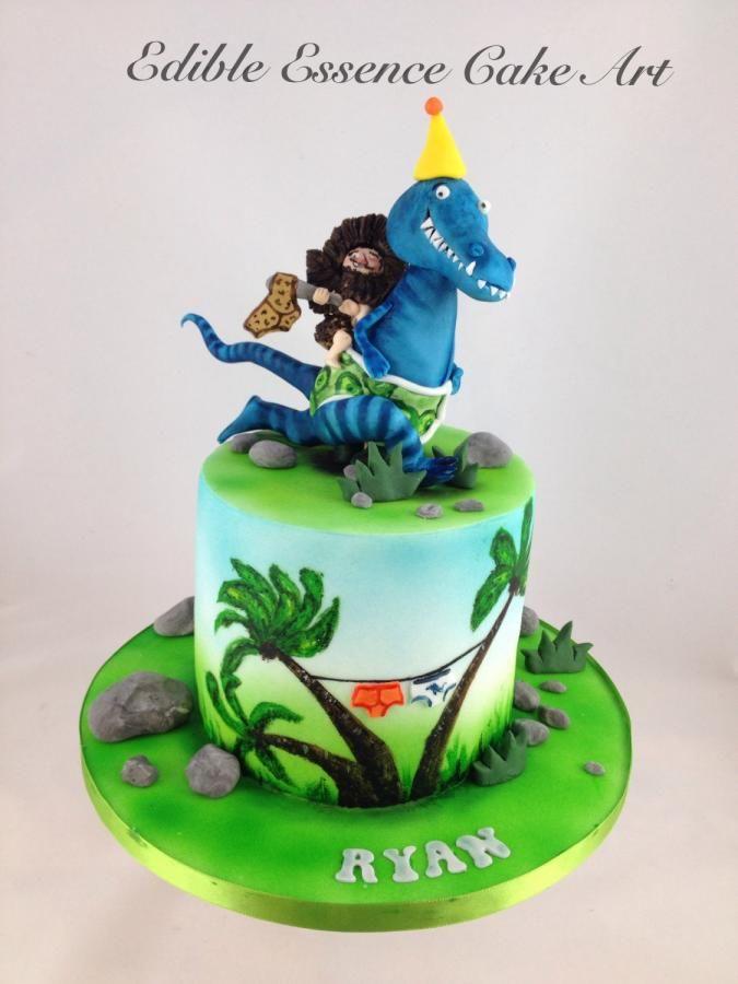 Tyrannosaurus Rex Cake Template