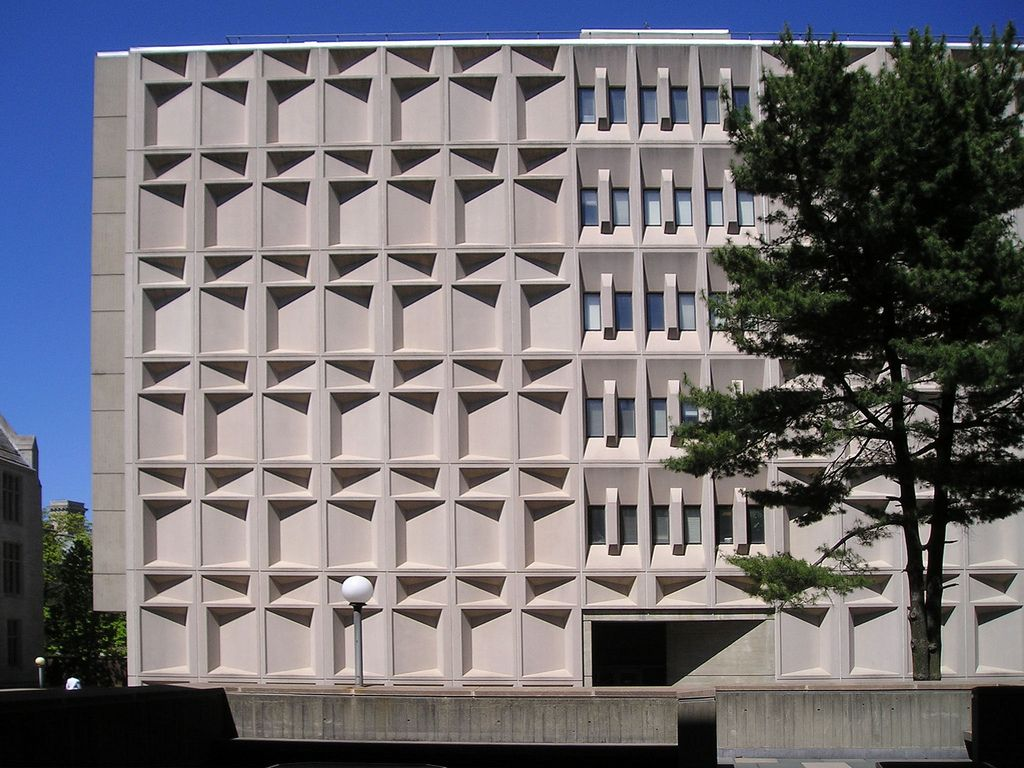 Marcel Breuer Science Centers Becton Engineering Yale University