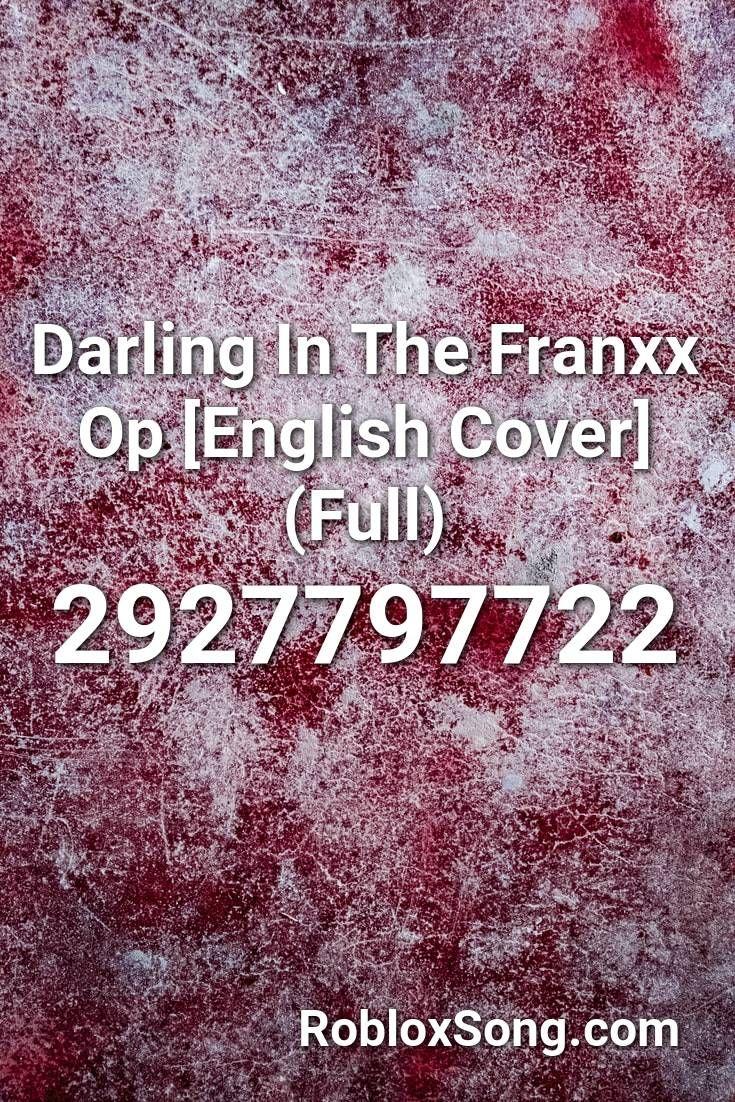 darling in the franxx roblox id