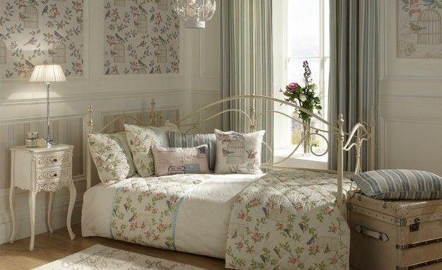 Camera da letto dai toni pastello camere pinterest stanze da letto stanze da letto - Camera da letto in stile shabby ...