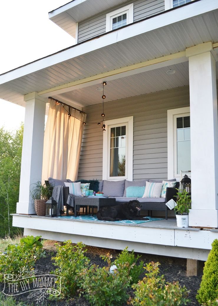 from front spring home bloggers before decorating porch ideas ugly top decor simple