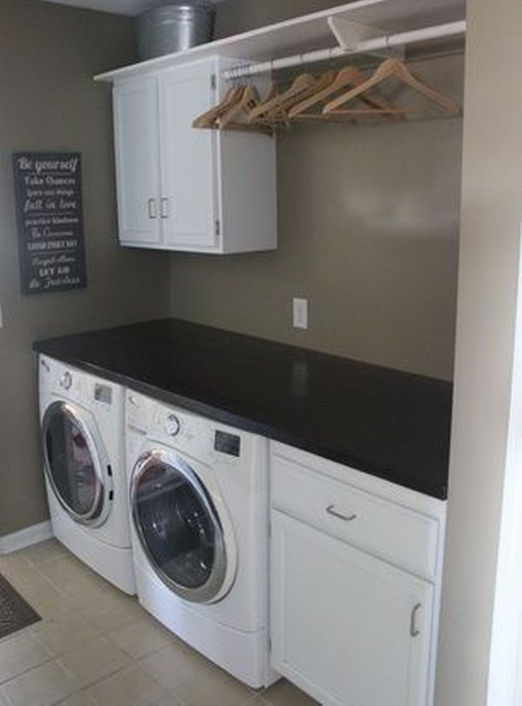 33 Minimalist Small Laundry Room Design And Decor Ideas images