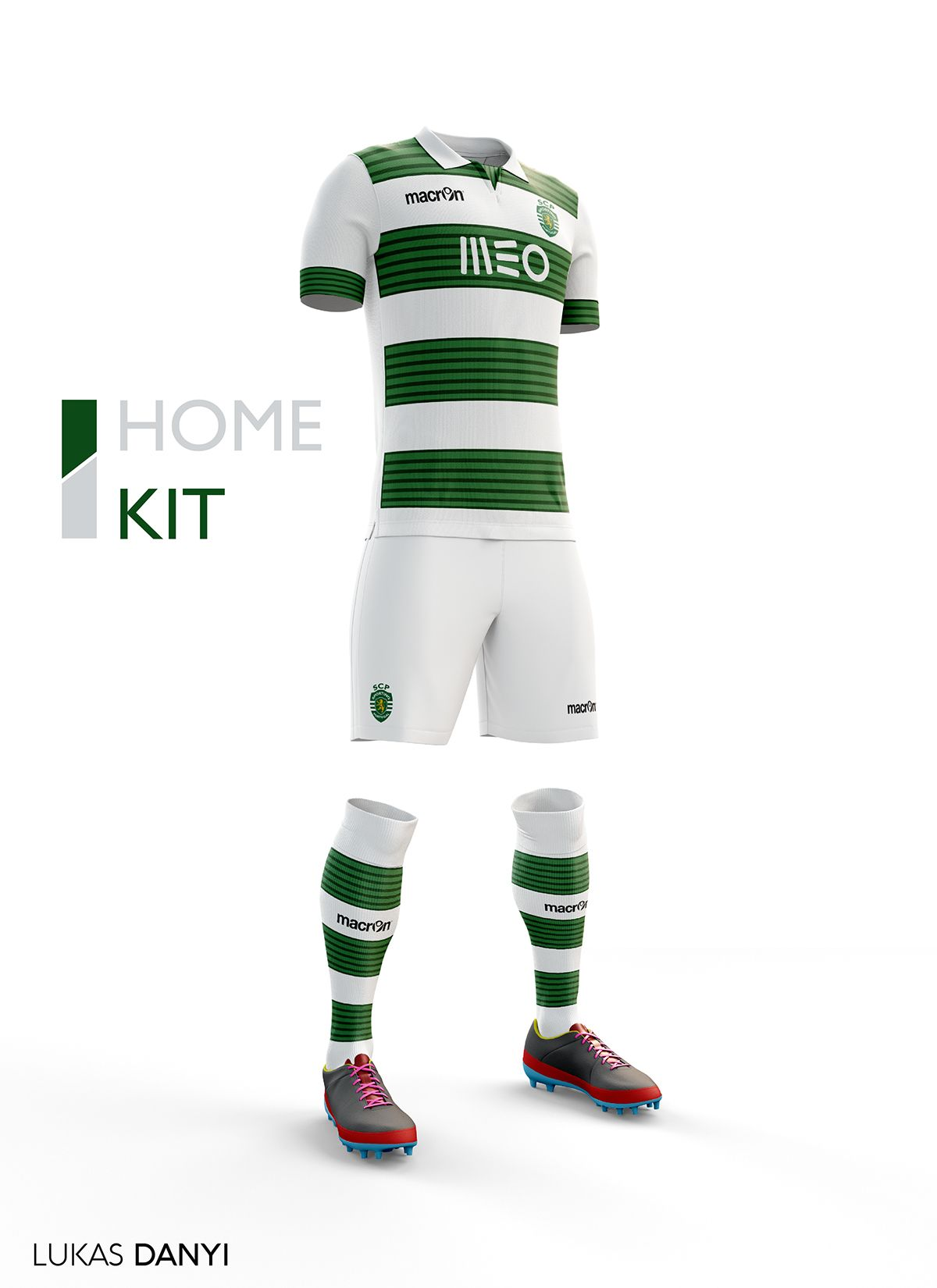 60c4b4032e I designed football kits for Sporting CP for the upcoming season 16/17.
