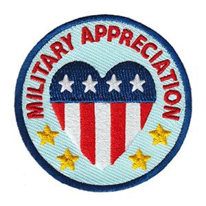 Military Appreciation Service Patch Program® from Youth