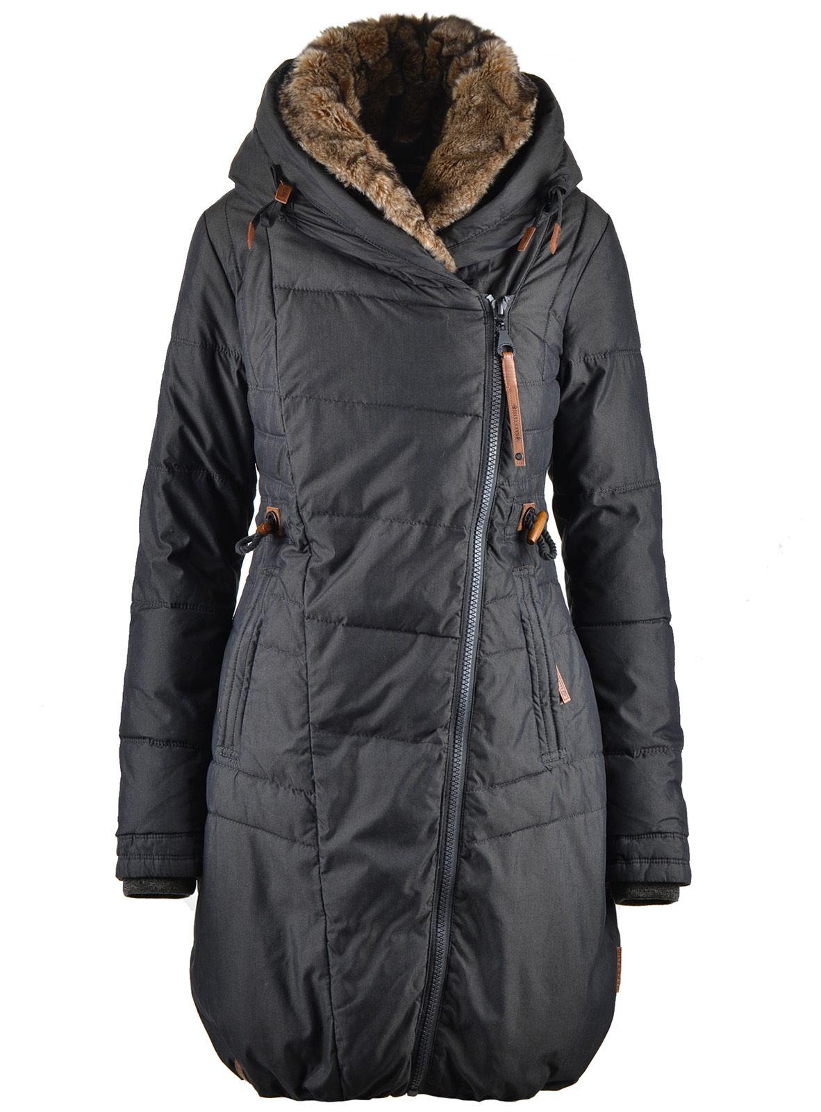 c102d3aa5bd41 Teplá zimní bunda v černé barvě Naketano Der Geist | Péřové zimní bundy |  Parky | BUNDY | KABÁTY | Chicshop.cz