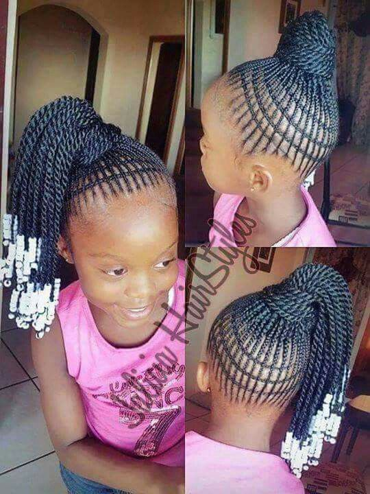 Pin By Dee Dee H On Cheveux Braid Styles Braided Hairstyles Kids Braided Hairstyles