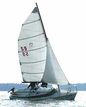 Freedom 21 sailboat | Freedom 21 sailboat for sale | Boating