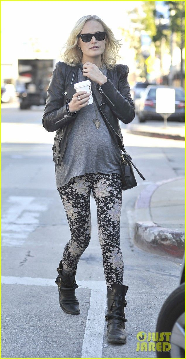 2a561c592269d Malin Akerman: combat boots and pattern tights | What to Wear When ...