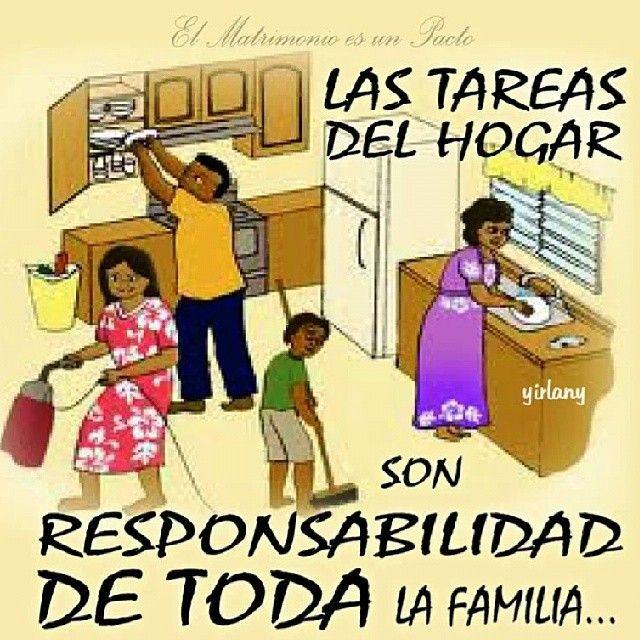 Las Tareas Del Hogar Son La Responsabilidad De Toda La Familia