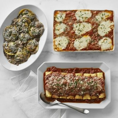 Three Days of Italian Entrees