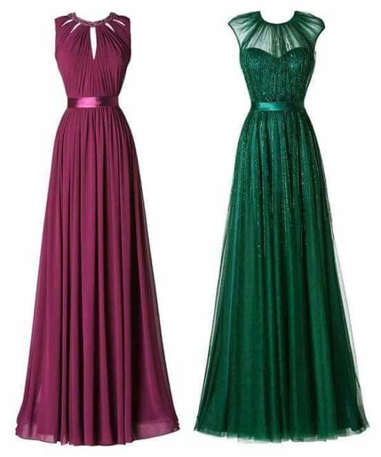 Modelos de vestidos de fiesta para una boda
