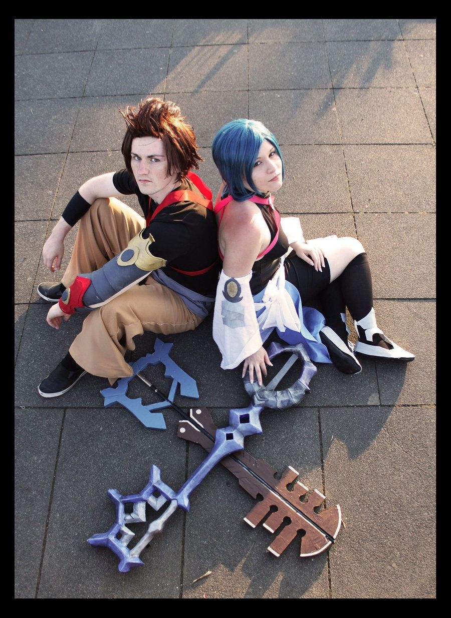Terra and Aqua cosplay Cosplay, Halloween cosplay