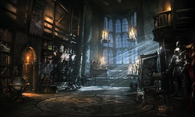 Horror Medieval Game Environment Design Game