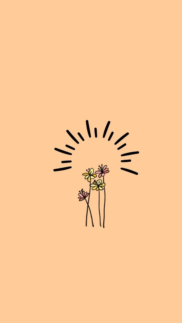 Luv This Cute Simple Wallpapers Cute Wallpaper For Phone Simple Wallpapers