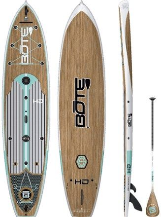 Bote Hd Gatorshell Stand Up Paddle Board With Paddle 12 In 2020 Standup Paddle Paddle Paddle Boarding