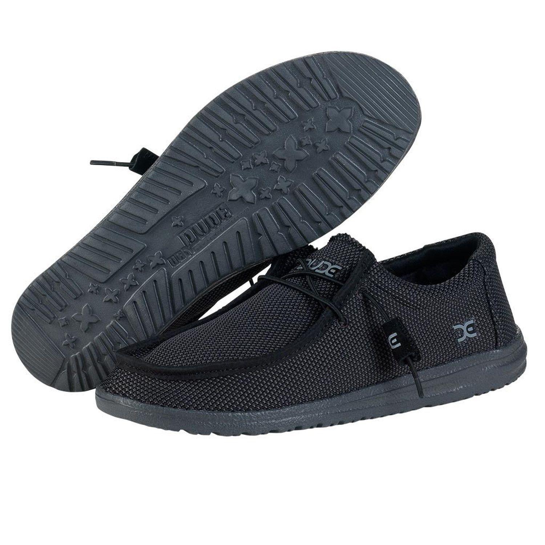 f0df215c60 HEY DUDE Wally Sox Men | Black (111154900) | BadASS ISH | Sock shoes ...