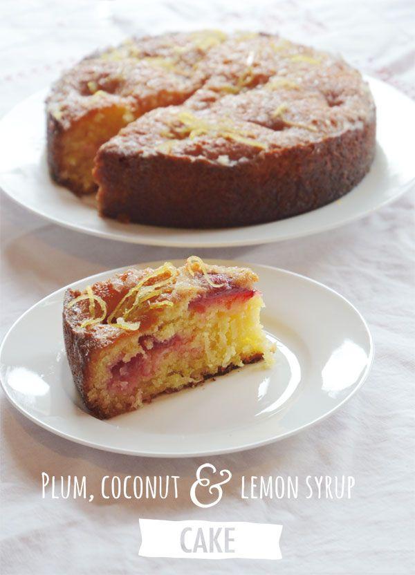 Lemon syrup cake recipe nz